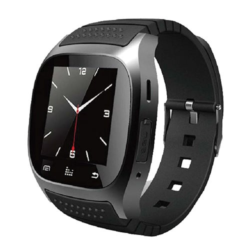 Bluetooth Smartwatch w/ Call Feature, Black