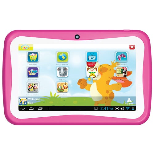"7"" Android Dual Core Kids Tablet, Pink"