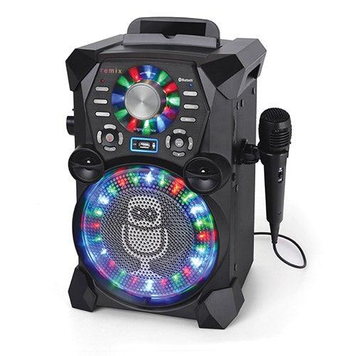 HD Karaoke System with LED Disco Lights