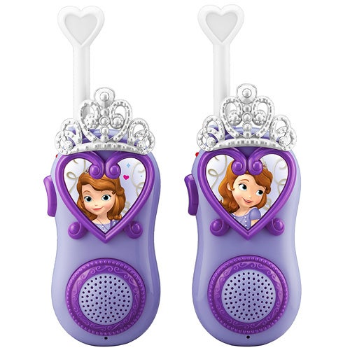 Sofia the First Tiara Talk FRS Walkie Talkies