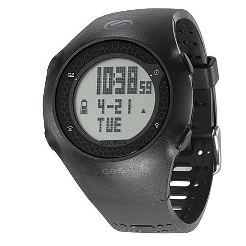 GPS Turbo Activity Watch, Black