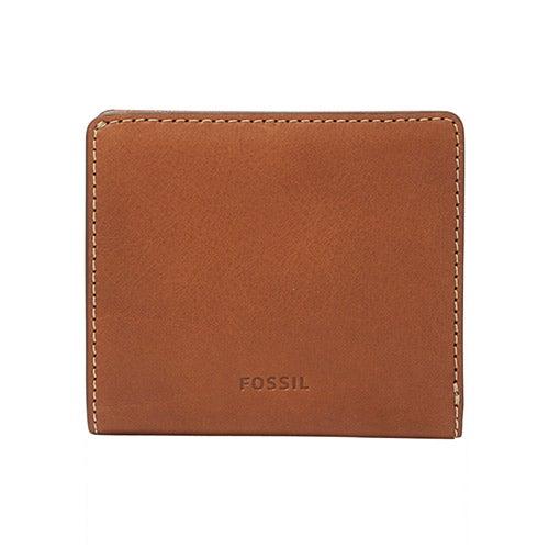 Emma RFID Mini Wallet, Brown