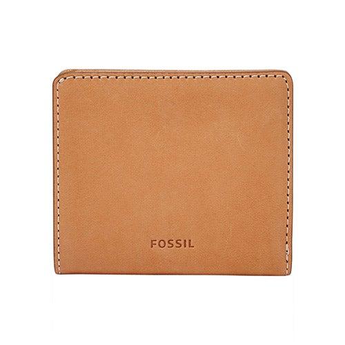 Emma RFID Mini Wallet, Tan