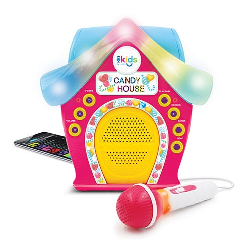 Kids Candy House Sing-Along Karaoke Machine, Ages 6+ Years
