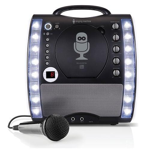 Portable Bluetooth Karaoke Machine, Black
