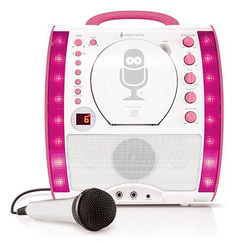 Portable Bluetooth Karaoke Machine, Pink