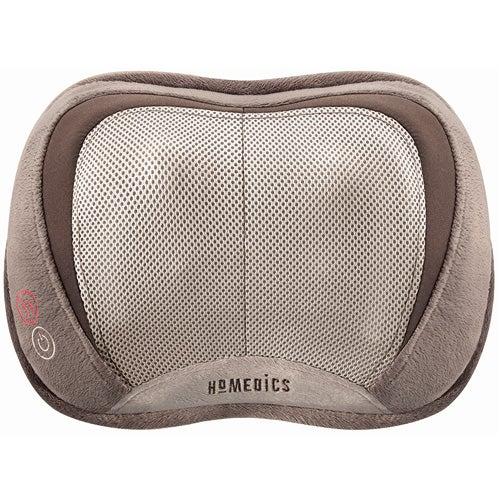 3D Shiatsu + Vibration Massage Pillow w/ Heat