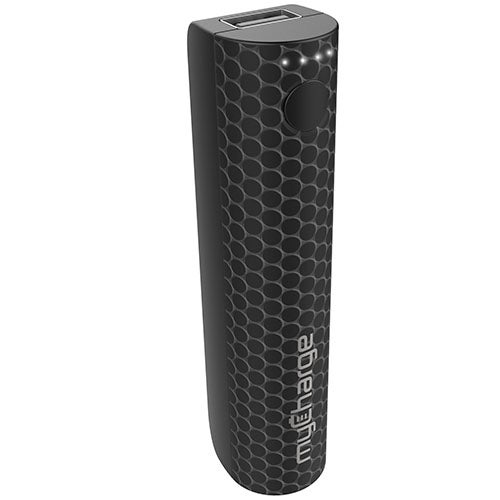 StylePower 2200mAh Rechargeable Power Bank, Black Dots
