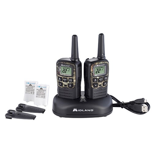 X-Talker 2-Way Radios w/ 28-Mile Range, Mossy Oak Camo