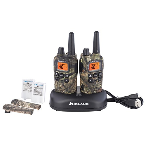 X-Talker 2-Way Radios w/ 32-Mile Range, Mossy Oak Camo