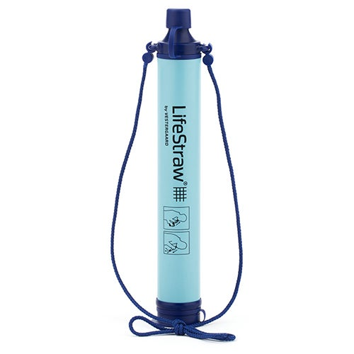 LifeStraw Personal Water Filter, Blue