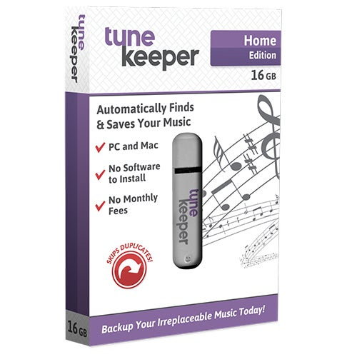 Home Edition Tune Keeper, 16GB