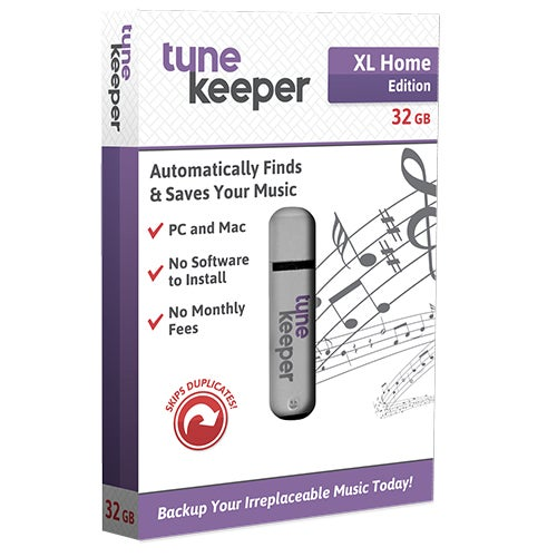 XL Home Edition Tune Keeper, 32GB