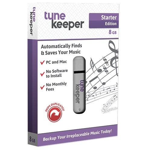 Starter Edition Tune Keeper, 8GB