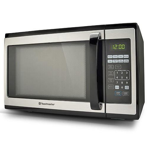 Toastmaster 1.4 CFT Microwave Oven, Stainless Steel