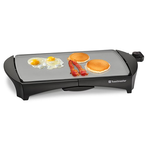 "Electric Ceramic Griddle, 10"" x 19"""