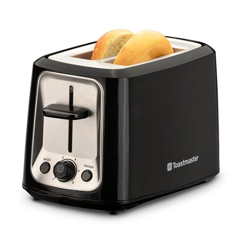 2-Slice Cool Touch Toaster, Black