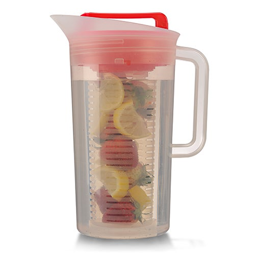 Today Shake and Infuse 3 Qt Pitcher, Red
