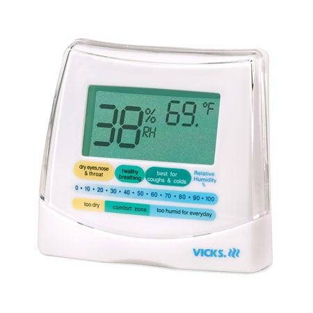 Vicks® HealthCheck Humidity and Temperature Monitor