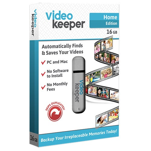 Home Edition Video Keeper, 16GB