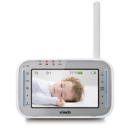 Safe & Sound Baby Monitor w/ Pan/Tilt and Full Color Monitor