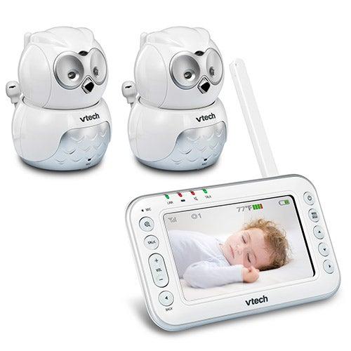 Safe & Sound Audio/Video Baby Monitor w/ 2 Cameras