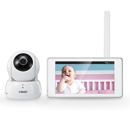 """Deluxe Wireless HD Video Baby Monitor w/ 5"""" Touch Screen"""