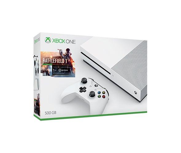 Xbox One S Battlefield 1 Bundle, 500GB