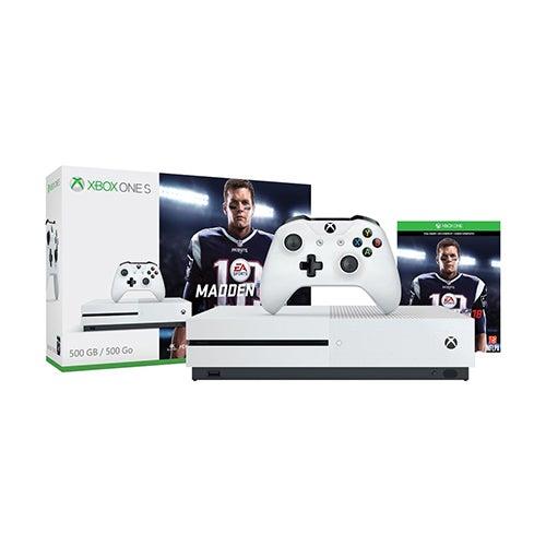 Xbox One S Madden 18 Bundle, 500GB