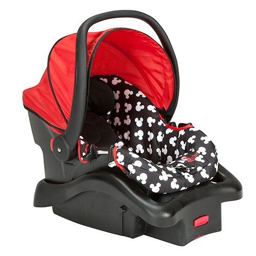 Mickey Silhouette Dot Light N Comfy Luxe Infant Car Seat